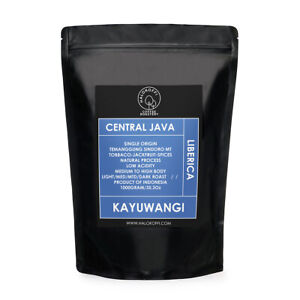 Halokoffi Authentic Liberica Central Java Kayuwangi Coffee Process Roasted Beans