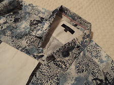 "TED BAKER Mens Shirt 🌍 Size 16.5"" (44"" CHEST) 🌎 RRP £110+ 📮 FLORAL PASHION"