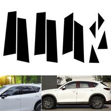 10pcs Door Window Pillar Posts Cover Trim Molding Fit Mazda CX-5 CX5 2017-2018