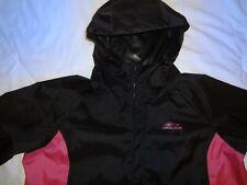 New listing Grundens Women's Weather Watch Fishing Hooded Jacket Black w/ Pink - Size Xxl