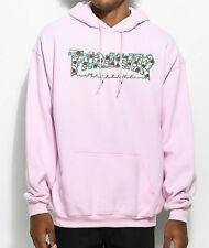 THRASHER FLAME LOGO HOODIE MEN'S PULLOVER- ROSES PINK 100% AUTHENTIC BRAND NEW