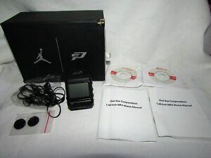 Vintage Oui the Corporation Air Jordan Jumpman MP4 Player Wrist Watch in Box