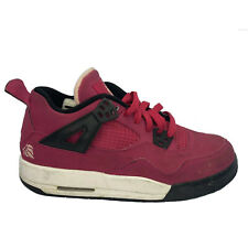 Youth Girl Nike Air Jordan IV 4 Retro GS VOLTAGE CHERRY 487724-601 Size 5.5Y