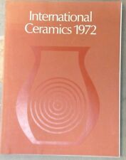 V&A World International Ceramics Exhibition June-July 1972 Paperback Leach