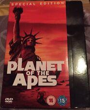 La planète des singes box set [ DVD ] joué une fois en excellent état