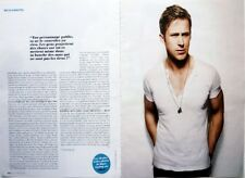 RYAN GOSLING => 4 pages 2013 FRENCH CLIPPING !!!  FREE SHIPPING!!!