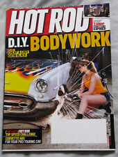 Hot Rod Magazine August 2011  DIY Bodywork, How to do Satin paint, 2000HP cars