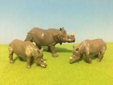 Details about  /Vintage Britains Ltd Rhino Figurine ~ Hard Plastic ~ Circa 1970's ~ Rhinoceros
