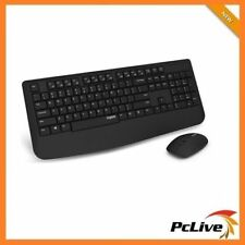 Rapoo X1900 2.4GHz Wireless Keyboard Mouse Combo Optical Spill-resistant 1000DPI