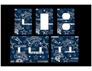 DALLAS COWBOYS #3 Light Switch Covers Home Decor Outlet MULTIPLE OPTIONS