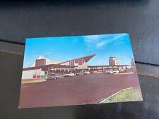 CHEYENNE WY Wyoming Airport Terminal Postcard 1960's