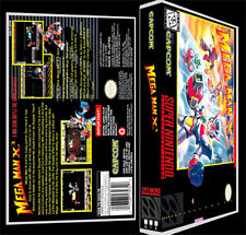 Mega Man X3 - SNES Reproduction Art Case/Box No Game.