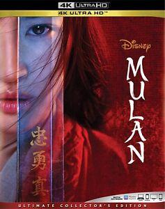 Mulan (4K Ultra HD Blu-ray Disc, 2020)