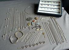 HJL Konvolut 925 835 Silber Schmuck Ringe Anhänger Ketten Design Armband TOP