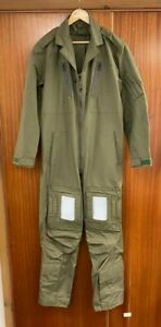 RAF Flying Suit Mk 14A Green Size 9 Nomex Aircrew Coverall Excellent condition