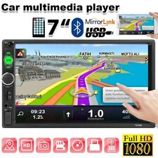 """7 """" DOUBLE 2DIN Car MP5 Player BT Touch Screen Stereo Radio HD7010B 🔥T"""