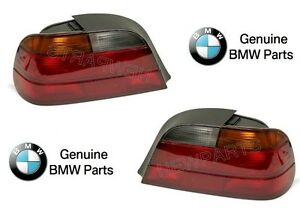 For BMW E38 740i 740iL 750iL Pair Set of Left & Right Taillights Genuine