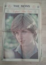 The Portsmouth News Feb 25 1981 Royal Engagement of Prince Charles Lady Diana.