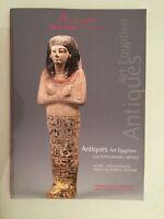 Catálogo De Venta Auctionart Remy El Toro & Relacionados Antiguo Art Egipcio