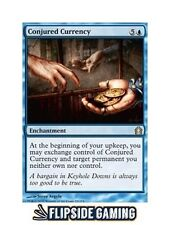 4x Conjured Currency (Return to Ravnica) SP or Better Mtg ~Flipside2~