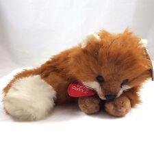 Anna Club Plush Red Fox The Leather Tag Line 1990 Korea