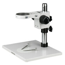 AmScope TS100-FR Super Large Microscope Table Stand with Focusing Rack