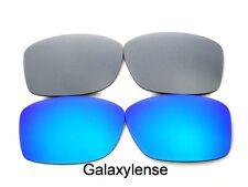 Galaxie Verres De Rechange Pour Oakley Jupiter Squared Bleu/Gris polarisé
