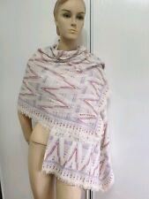 Grande echarpe Foulard Marc Jacobs wide scarf cotton cashmere coton cachemire
