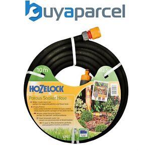Hozelock 10m 12.5mm Standard Soaker Garden Hose Pipe + Kit 6761