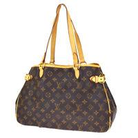 Auth LOUIS VUITTON Batignolles Horizontal Shoulder Bag Monogram M51154 76BS299