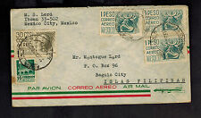 1956 Mexico City Mexico to Baguio Philippines airmail cover