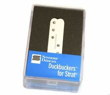 "11205-35-W Seymour Duncan ""Duckbucker"" Strat Neck/Mid Pickup-White SDBR-1n"