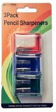 Pencil Sharpeners (3 Pack)