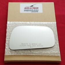 Mirror Glass + Adhesive For 99-03 Toyota Solara Passenger Side Replacement