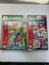 NEW LeapFrog LeapPad Educational Record & Play Microphone With Books