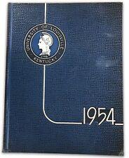 Johnny Unitas Junior Season University of Louisville 1954 Thoroughbred Yearbook