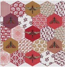 10% Off Long Dog Samplers Counted X-stitch chart - The Quilted Bees