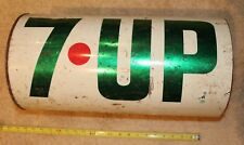 "7 UP ""The Uncola"" Wet & Wild Vintage Metal Trash Can"