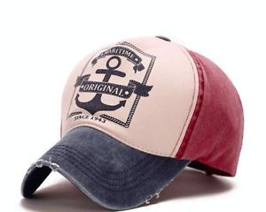 Baseball Cap Maritime Original Anchor