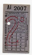 London Collectable Bus & Coach Tickets