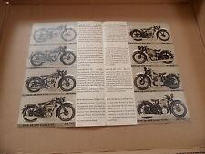 DKW Motorrad  Prospekt SB KM KS