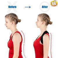 Unisex Posture Corrector Back Shoulder Lumbar Support Brace Belt BodyWellness W4