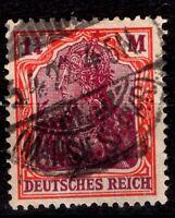 Германия 1920-21 1 1/4 м  Mi.151Y водяного знака НЕТ.Cat £ 1600