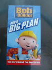 Bob The Builder Bob's Big Plan Story Behind The New Sealed Unopened VHS