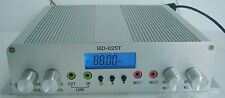 Dual MIC 15W FM stereo PLL broadcast transmitter radio station HD-02ST KIT