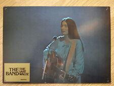 THE BAND - LAST WALTZ German lobby card#7  Bob Dylan - EMMYLOU HARRIS- SCORSESE