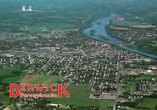 Aerial View Berwick Pennsylvania Columbia County, Nuclear Power Plant - Postcard