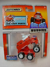 2011 MATCHBOX BIG RIG Buddies Smokey The Fire Truck Red ~~Hard to FInd