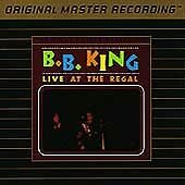 Live at the Regal by B.B. King (CD, May-1991, Mobile Fidelity Sound Lab)