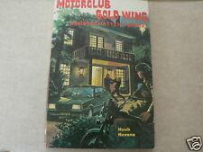 MOTORCLUB HONDA GOLD WING KUNSTSCHATTEN VERMIST MOTORCYCLE COVER BOY BOOK DUTCH